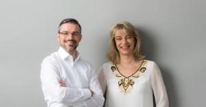 Oliver Hornemann und Karin Grasse, Geschäftsführer der Otto von Guericke Immobilien GmbH